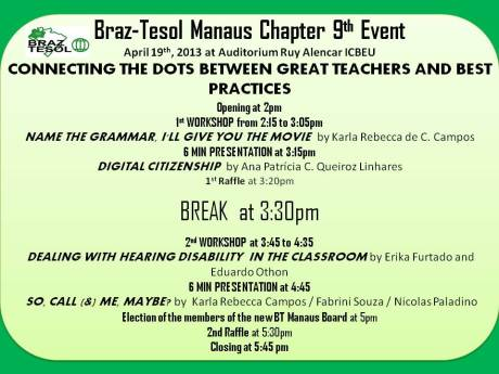 BT Manaus Chapter 9th Event