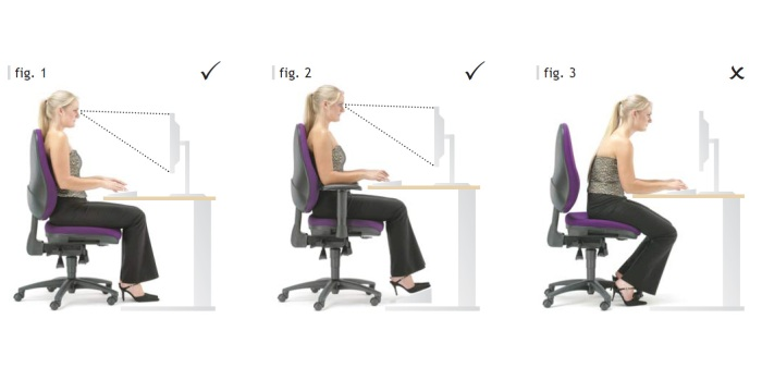 Como sentar-se corretamente